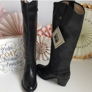 New Frye Jackie Button Tall Boots 👢